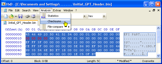 The Windows 7, 8 & 10 GPT 'Protective' MBR and EFI Partitions